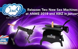 Cloud 9 Novelties Unveil 2 New Sex Machines at ANME and XBIZ
