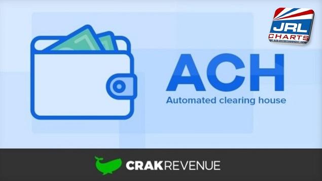 CrakRevenue New ACH Payment System for Adult Affiliates