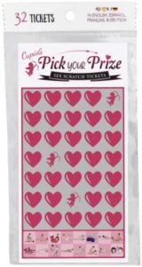 Cupid's Pick Your Prize Sex Scratch Tickets - Kheper Games
