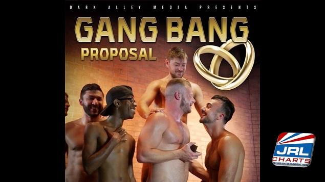 Dark Alley Media Brings the Big Guns In Gang Bang Proposal