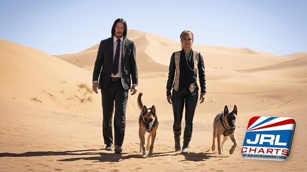 John Wick 3 Parabellum - Keanu Reeves-Halle Berry-First Images