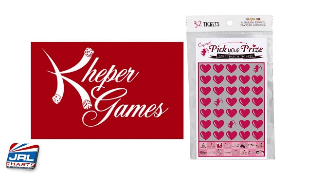 Kheper Games Debut Cupid's Pick Your Prize Sex Scratch Tickets