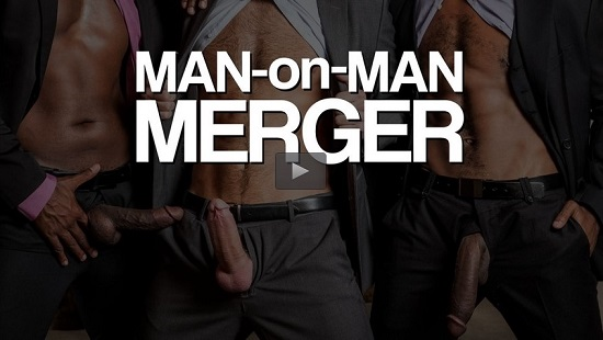 Man-on-Man Merger on DVD gay movie trailer - Lucas Entertainment