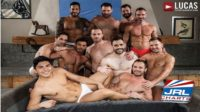 Bareback Guy Pile gay porn orgy - Lucas Entertainment