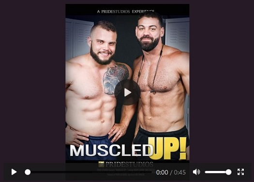 Muscled Up DVD - gay porn - movie trailer