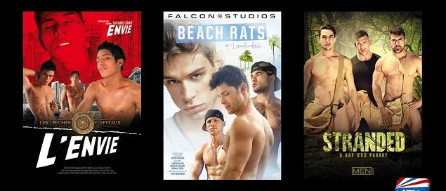 New Gay Adult DVD Releases Coming to Retail – January 16, 2019