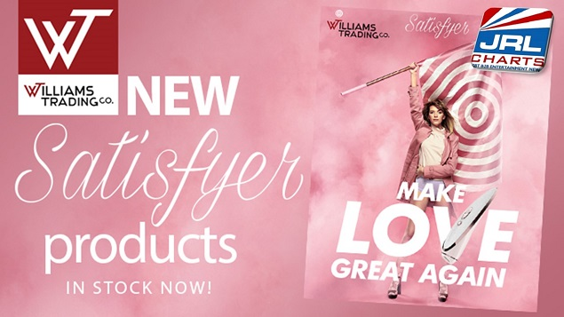 New Line of Satisfyer Vibes, Kegel Balls, Anal & Men's Products - Williams Trading Co.