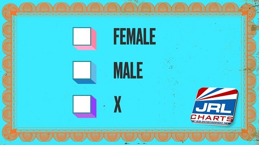 New York City Nonbinary Gender Option Law - X Joines Male and Female Choice