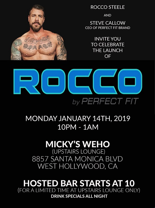 Perfect Fit Brand Launch Party- Rocco Steele Line of Sex Toys