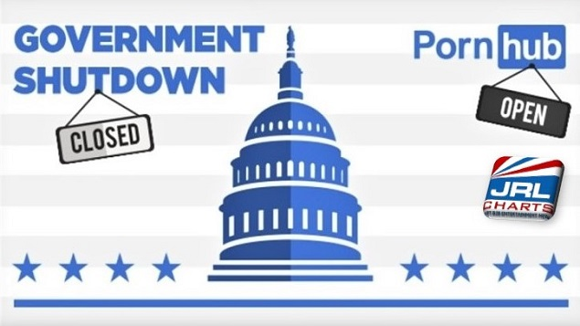 Pornhub Reports Rise in Web Traffic Amid Government Shutdown