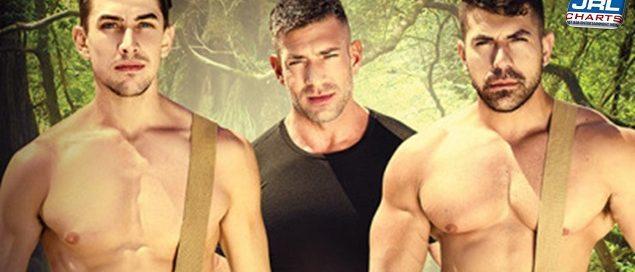 STRANDED A Gay XXX Parody - Damien Stone, Jack Hunter, Bruce Beckham