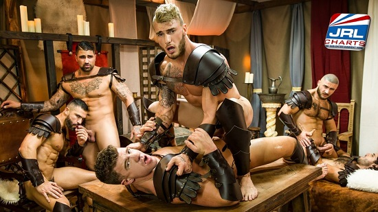 Sacred Band of Thebes DVD gay porn movie 2019 - screenshot