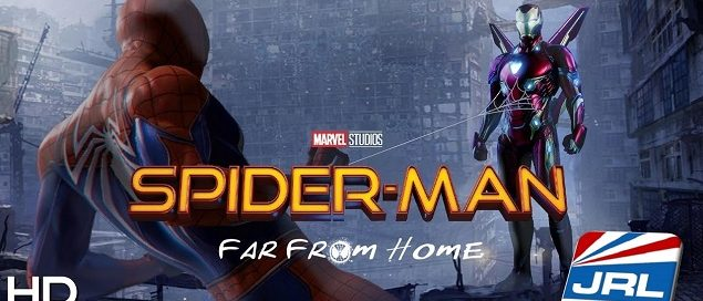 Spider Man Far From Home-2019-Tom Holland-Trailer-Marvel Studios