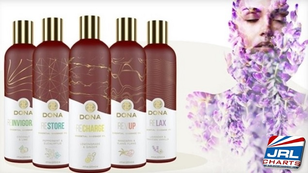 System JO Adds Five New Massage Oils to Dona Collection