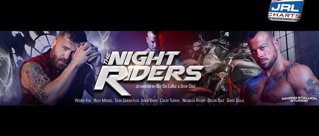 the night ryders DVD - Raging Stallion gay porn movie