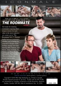 The Roommate Vol. 2 DVD Backcover