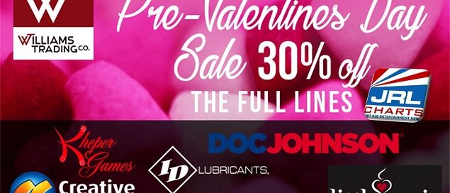 Williams Trading Starts 2019 With Pre-Valentine's Day Sale