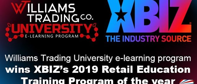 Williams Trading University e-learning program wins 2019 Retail Education Training Program of the year