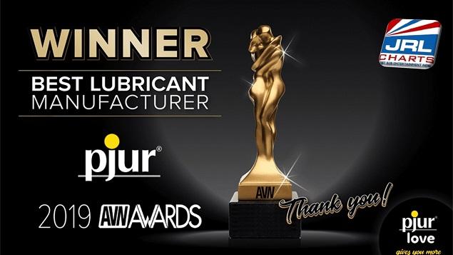 pjur Scores AVN Award for Best Lubricant Manufacturer