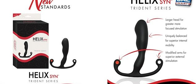 Aneros Streets New Helix Syn Trident Prostate Massager