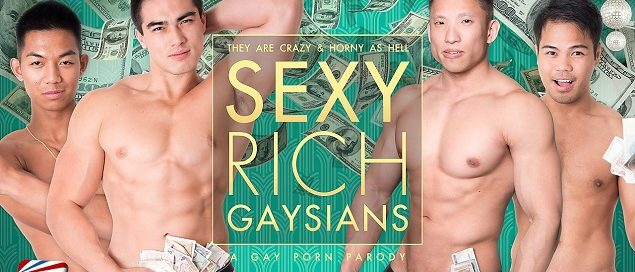 PeterFever' Sexy Rich Gay Asians Cast Will Explode In Numbers