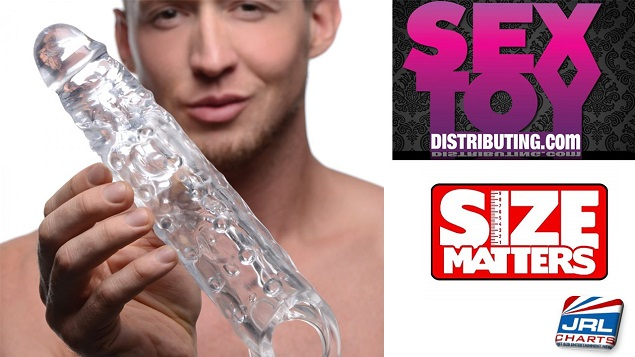 Sex Toy Distributing Streets Flexible Penis Extenders by Size Matters