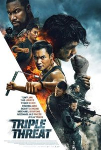 Triple-Thraat-(2019)-Official Poster-Well Go USA Entertainment