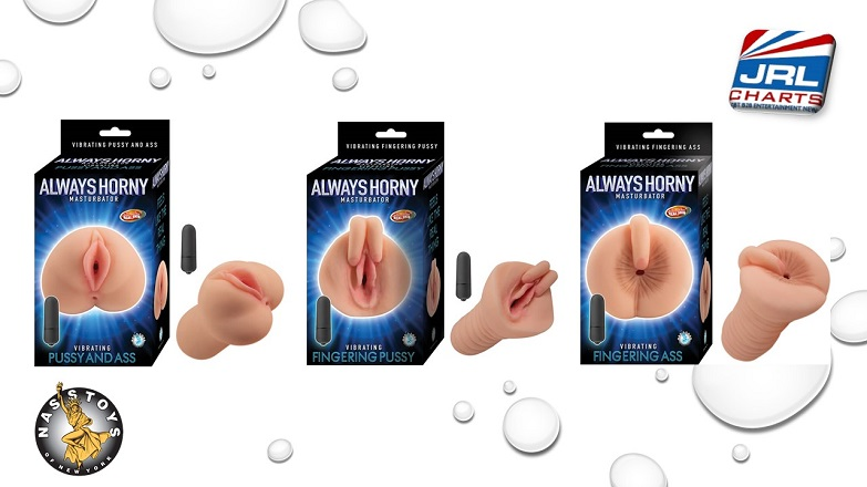 Always Horny Masturbator Vibe Range by Nasstoys Ideal for Men