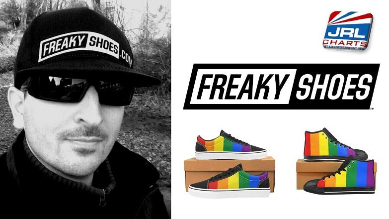 Freaky Shoes Unveil PRIDE 2019 Custom Designs