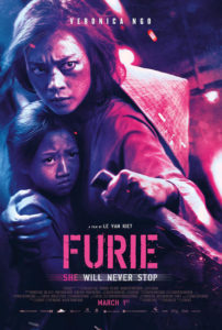 Furie (2019) Official Poster - Well Go USA Entertainment