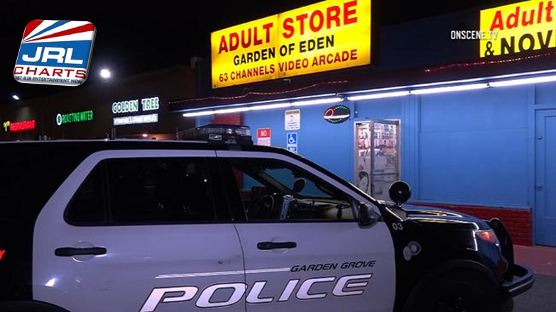Garden Grove Adult Store Clerk Hit with Gun During Robbery