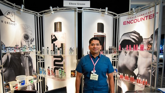 Pictured - Nef Martinez-Owner-Elbow Grease Lubricants