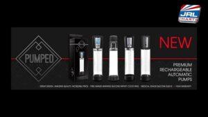 Pumped Premium Rechargeable Automatic Pumps by Shots Toys