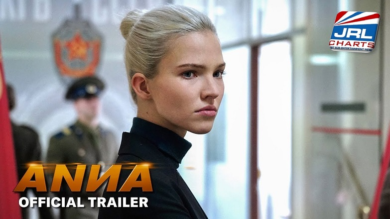 ANNA - Watch Official Trailer starring Sasha Luss, Helen Mirren