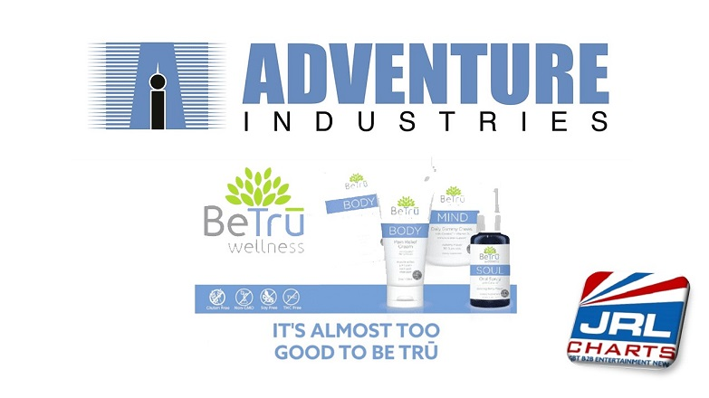 Adventure Industries Ships BeTru Wellness CBD-Based Products