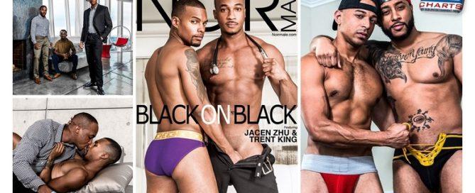 Black on Black DVD Streets Starring Jacen Zhu, Trent King, Max Konnor