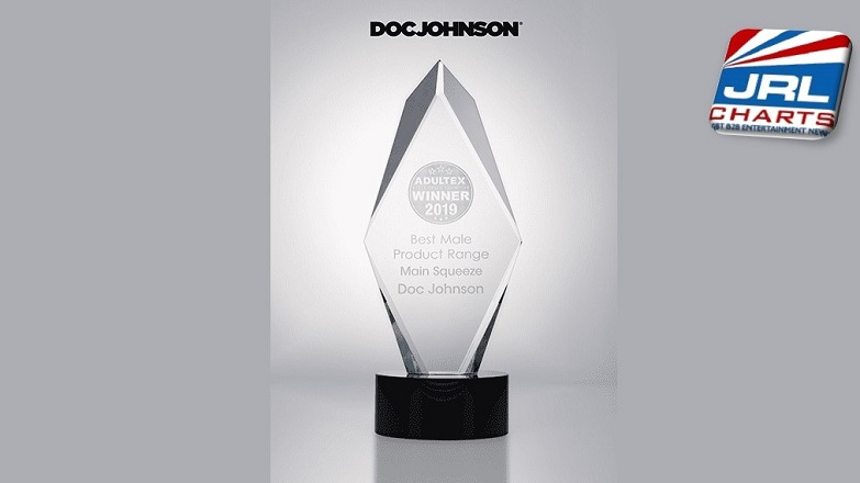Doc Johnson Wins AdultEx Best Male Product for Main Squeeze