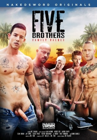 Five Brothers Family Values DVD (2019) NakedSword-FSG