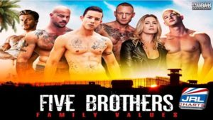 Five Brothers - Nic Sahara, Alam Wernik, Sean Duran Ready to Dominate on DVD