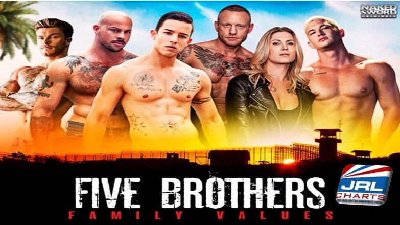 Five Brothers - Nic Sahara, Alam Wernik, Sean Duran Ready to Dominate on DVD