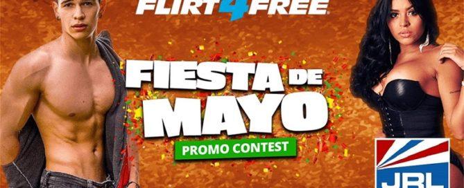Flirt4Free Announce Fiesta de Mayo, Cinco Celebration & Contest