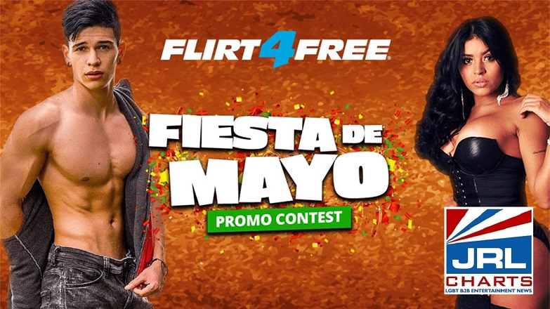 Flirt4Free Announce Fiesta de Mayo, Cinco Celebration & Contest