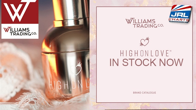 High On Love™ Hemp-based CBD Sensual Cosmetics Range Launch