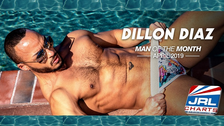Noir Male Newcomer Dillon Diaz Named April Man of the Month