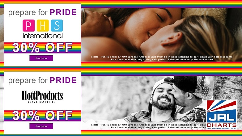 Prepare for PRIDE Sale - PHS, Hott Products Launch at Williams Trading Co.