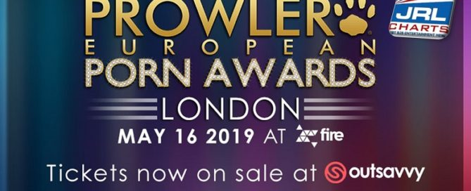 Prowler European Porn Awards takes place May 16 in London