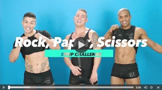 Rock, Paper, Scissors Strip Challenge