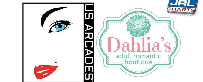 US Arcades Inks Partnership with Dahlia's Adult Romantic Boutique