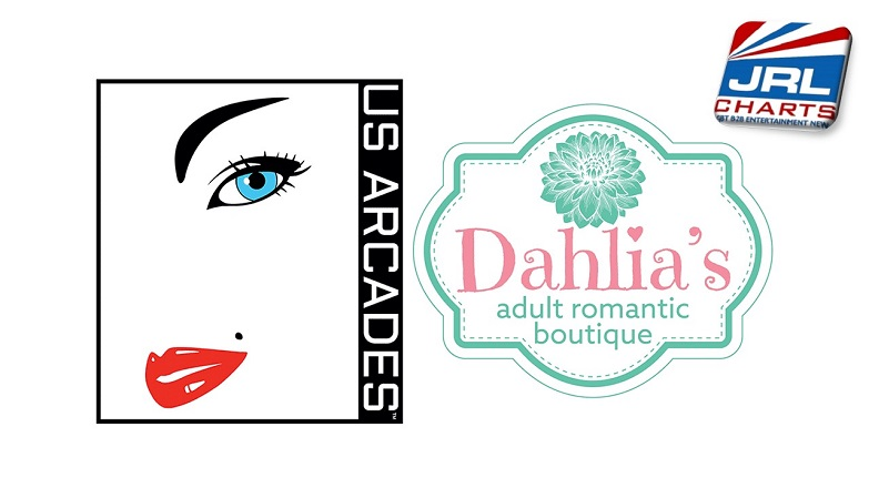 US Arcades Inks Partnership with Dahlia's Adult Romantic Boutique