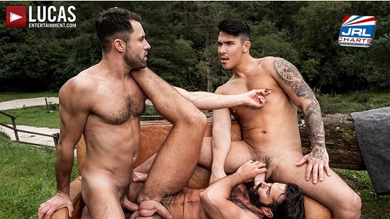 Uncut in the Great Outdoors DVD (2019) - Gay-Porn-Scene-Lucas entertainment